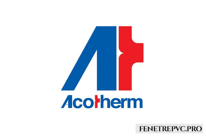acotherm logo rouge bleu