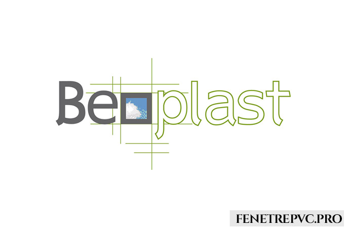 logo lettre ciel vert beoplast