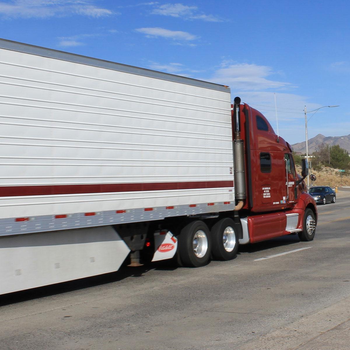 camion route livraison