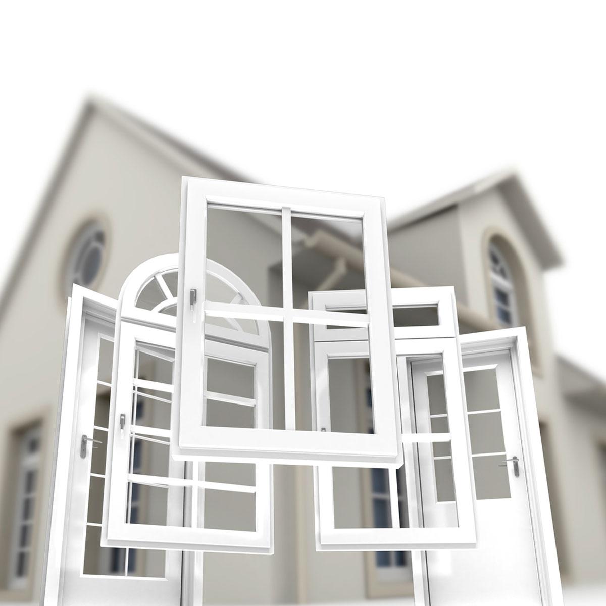 fenêtres formes maison