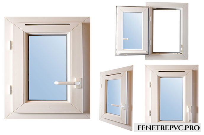fenêtre bleu blanc