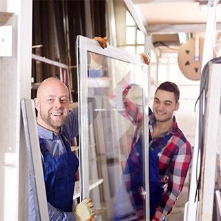 pose fenêtre pvc par des artisans